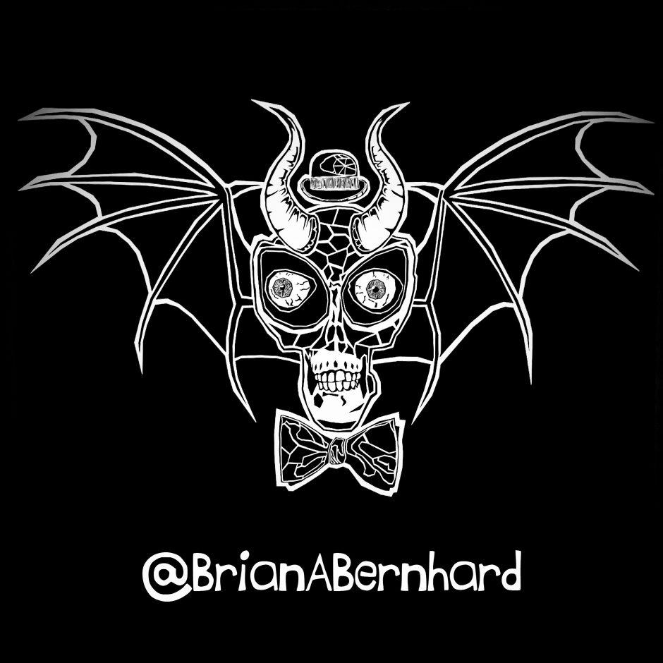 Alien Bat Skull