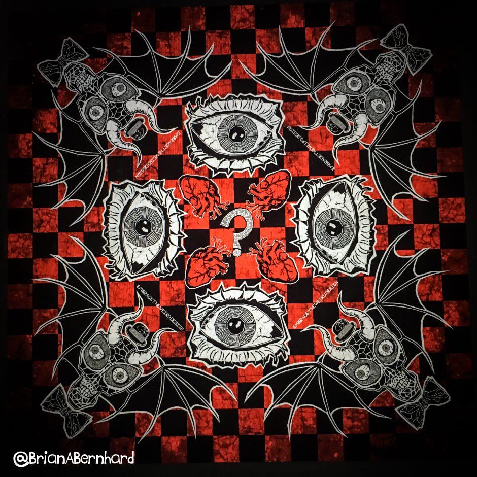 Occhi di Skull Alieno